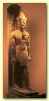 Recently discovered statue of Amenhotep III